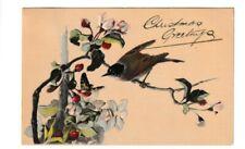 Old Christmas Greetings Postcard 1907?
