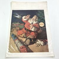 Vintage 1962 Coca Cola Santa Claus Magazine Print Ad Christmas Collectible