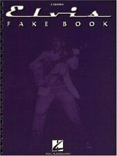 ELVIS PRESLEY FAKE BOOK-C EDITION-LYRICS/CHORDS/SYMBOLS-OVER 200 SONGS-BRAND NEW