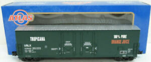 Atlas 6505-1 O Tropicana Evans 53' Double Plug Door Boxcar [3Rail] #13062 LN/Box