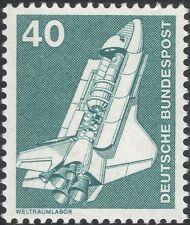 Germany 1975 Industry/Technology/Space Shuttle/Rocket/Transport 1v (n29148d)