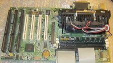 Magellan EBX E6BX-ATX Motherboard PII 400Mhz 256MB Ram 3 ISA Slots New Battery