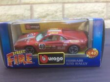 FERRARI 288 GTO COUPE RALLY CAR 1:43 BURAGO MODEL * BOXED *