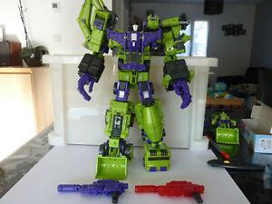 Transformers TFC Hercules lot de 6 not Devastator
