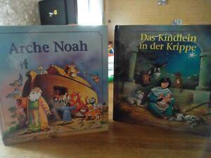 """2 Bilderbücher   """"Arche Noah""""  und """"Das Kindlein in der Krippe"""""""