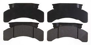 Disc Brake Pad Set-Semi-Metallic Front,Rear ACDelco Pro Brakes 17D224MH