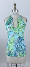 Lilly Pulitzer Arya Top Blue Heaven Size S