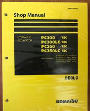 Komatsu PC300-7E0 PC300LC-7E0 PC350-7E0 PC350LC-7E0 Service Repair  Manual