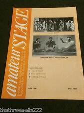 AMATEUR STAGE - MORE PUBLICITY IDEAS - JUNE 1996