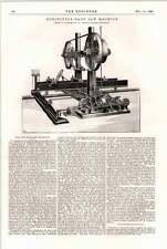 1898 Horizontal Bandsaw Machine 1 Ransome Chelsea
