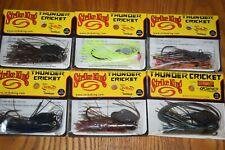 Fishing Lot of 6 Strike King Thunder Cricket 1/2oz Vibrating Bladed Swim Jig Nip