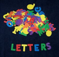 """Alphabet Shaped Foam 1"""" Letters Abc Kid Craft Choice of a set or variety pack"""