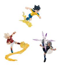 Inazuma Eleven style Figure Mini figure 50mm 3type set NEW JAPAN import  anime