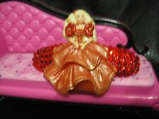 Swarovski Crystals & 1995 HOLIDAY BARBIE Jewelry BARRETTE Red PRETTY!