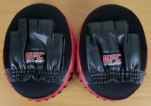 MMA UFC Target Focus Punch Strike Pad Gloves Preowned fits large hand