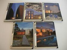 Revistas LIVING ARCHITECTURE - Scandinavian design - Nos. 11 a 15
