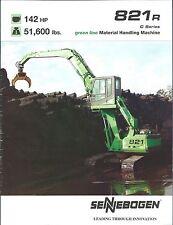 Equipment Brochure - Sennebogen - 821R - Scrap Material Handling Crane (E3573)