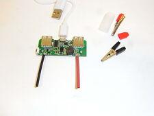 kit stazione di ricarica full protezione 18650 3,7v uscita 5v da 2 a 6 batterie