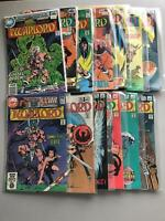 Lot of 24 Warlord (1976 1st Series DC) from #17-130 VF Very Fine