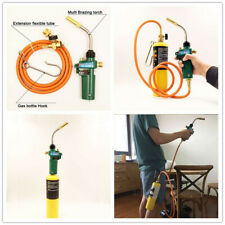 Mapp Gas Brazing Torch Self Ignition Trigger with Hose Propane Welding Heating