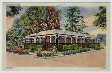 NICE - Orig Postcard - Rhinebeck NY Diner - Early Linen ca 1940 - Restaurant