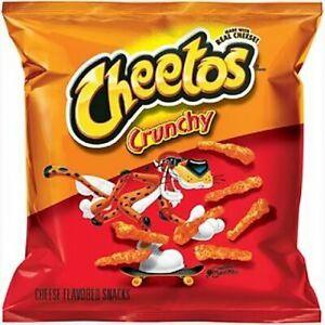11 X Cheetos Crunchy Cheese 🧀 1.25oz/35.4g Bags American Import 07/2021