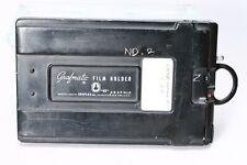 GRAFLEX GRAFMATIC 45 FILM HOLDER 4x5 SHEET FILM #2 -- 6 septums