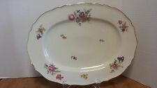 "K & A Krautheim Franconia Selb Norina Platter Tray Large 15 3/8"" Post WWII"