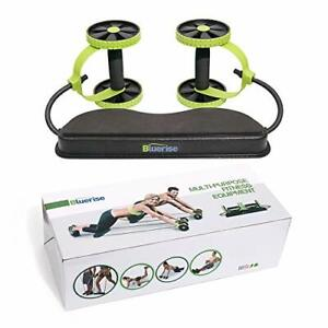 BLUERISE Multifunctional Abs Roller No Noise Ab Wheel Easy to Use Green