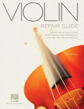 Violin Repair Guide Technical Reference Book NEW 000331150