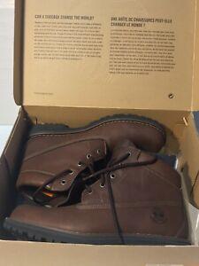 "Timberland 78517 6"" Premium Waterproof Brown Leather Ankle Boots 10.5M Unworn?"