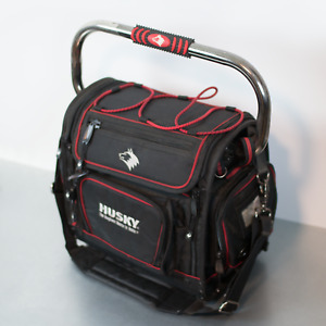 Husky Discontinued Tool Bag Top Opens for Full View Easy Access— Tons of Storage