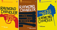 Raymond Chandler, The Big Sleep, High Window, Little Sister, 3 Book Set, New