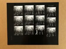 Band Photo of Trivium 10x11 contact sheet from Ray Lego Rare/Led. Heavy Metal.