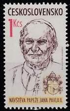 Tjechoslowakije postfris 1990 MNH 3046 - Paus Johannes Paulus II