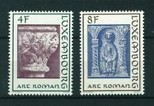 Luxembourg 1973 Romanesque Architecture full set of stamps. MNH. Sg 910-911