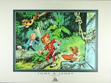 Affiche Offset Spirou et Fantasio Jungle