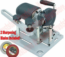 120 V Portable Electric Circular Saw Blade Sharpener Tilt Motor Left and Right