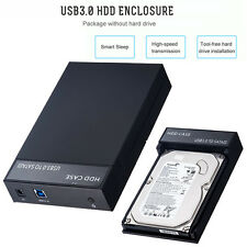 "USB 3.0 to SATA 2.5/3.5"" 8TB External HDD SSD Hard Drive Disk Enclosure Case Box"