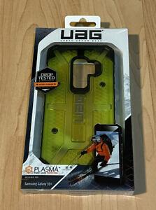 UAG Plasma Light Impact Resistant Samsung Galaxy S9 Plus 6.2-inch Case Yellow