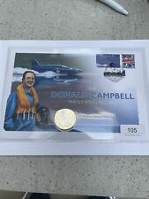 More details for the donald campbell 2 pound coin cover