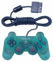 Dualshock 2 Controller - Emerald - Transparent Green - Sony PlayStation 2 PS2