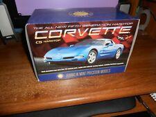 Franklin Mint Precision Models Scale 1:24 1999 Corvette C5 Hardtop Blue New Fs!