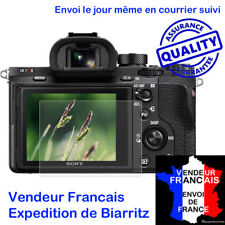 POUR SONY A7 A7II A7R A7S A7RII PROTECTION VERRE STATIQUE ULTRA MINCE ECRAN LCD