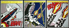 Roy Lichtenstein 1923-1997: As I opened fire 3 Farboffsetlithographien Amsterdam