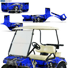 Club Car Graphic Kit Golf Cart Decal Sticker Wrap Accessories Parts 83-14 REAP U