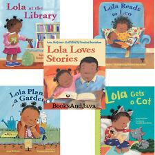 Lola Loves Stories,Loves the Library,Reads to Leo...Anna McQuinn (5 Paperbacks)