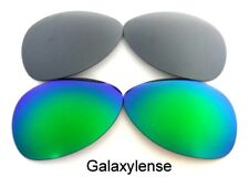 Galaxy Replacement Lenses For Oakley Crosshair New 2012 Green&Titanium Polarized