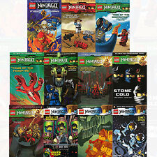 Lego Ninjago Vol (1 to 11)Collection 11 Books Set By Greg Farshtey NEW Paperback