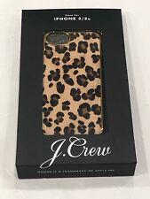 NIB J.Crew Calf hair iPhone Case 5/5s REAR Limited edition